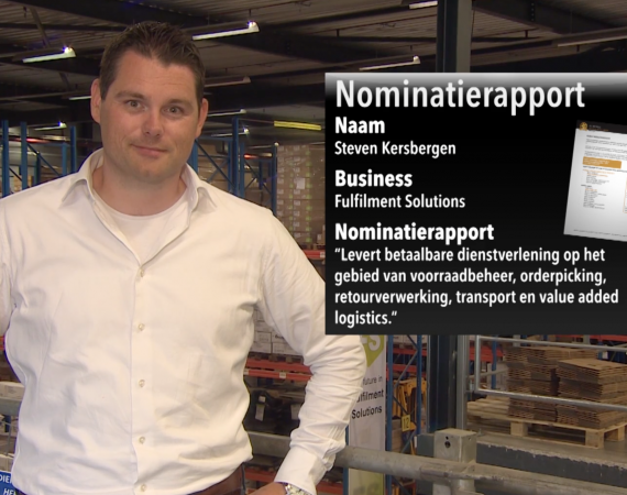 Fulfilment Solutions genomineerd voor Nationale Business Succes Award 2015