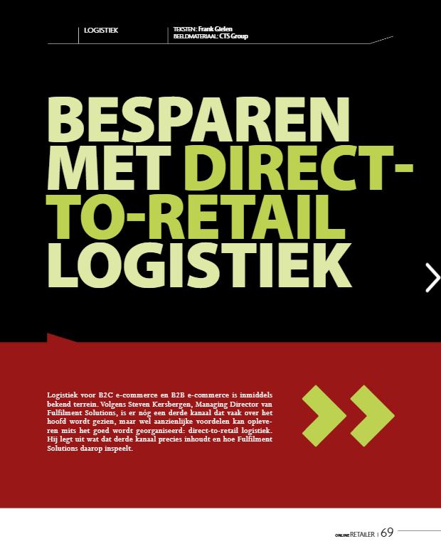 Direct to Retail logistiek